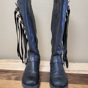 Frye Veronica Boots with fringe